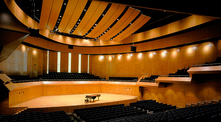 The Helix Theatre And Conference Venue Woodfit Acoustics